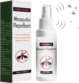 Spray Anti Mosquitos,Repelente de mosquitos,Anti Mosquitos, para la Prevención de Picaduras, Repelente de Mosquitos para la Prevención de Picaduras, Eficaz Mosquito Tigre