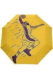 James Dunk Waterproof Folding Automatic Open Close Umbrellas