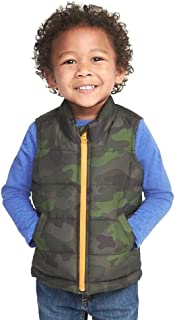 Green Camo Frost Free Vest for 2T Toddler Boys!