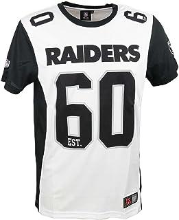 Majestic Camiseta NFL Oakland Raiders Dene Poly Mesh Blanco/Negro