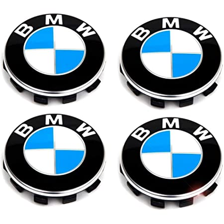 BMW Original Nabenkappe Embleme Decals Stickers 64.5mm