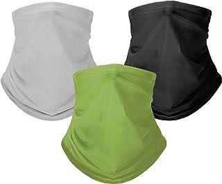 3 pack Bandanas. Protección contra el sol y viento. Protección UV UPF 50+ camuflaje para la cabeza. Sirve como pasamontaña...