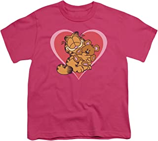 Garfield Cute Ncuddly Unisex Youth T Shirt for Boys and Girls