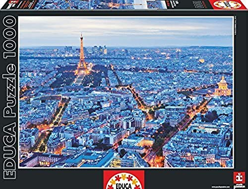 1000 Luces De Paris by Educa