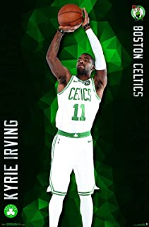 By Be the Bestest Boston Celtics - Kyrie Irving Wall Poster 12 x 18 Inch Poster Rolled