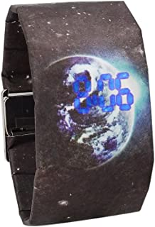 New Creative Led Paper Watch Magnetic Watch Strap Waterproof Clock Digital Watches