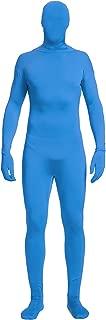 blue cosplay bodysuit