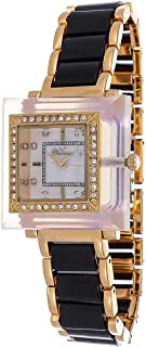 Charisma For Women Mother of Pearl Dal Stainless Steel Band Watch - C4730TGB