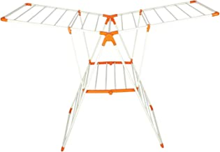 Saigan Littile Light Prime Stainless Steel Cloth Drying Stands/Cloth Dryer Stand- Blue (Clothes Drying) (Orange)
