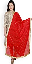 Best red bridal saree with dupatta Reviews