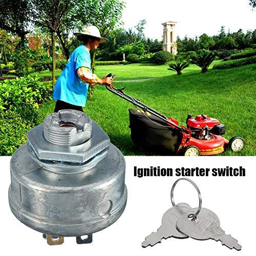 Xeroy Lawn Mower Starter Switch & Key - Lawn Mower 5 Spade Terminal Engine Start Switch, Five-Foot Lawn Mower Start Switch 725-0267 725-0267A 925-0267 925-0267A Presents Best Service