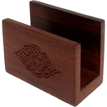 Buy Pindia Wooden Home Kitchen Dinning Table Décor Fancy Napkin Tissue Paper Holder Stand Online At Low Prices In India Amazon In