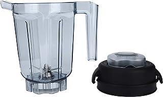 Récipient transparent pour mélangeur de nourriture, accessoires de remplacement de couvercle de lame de coupe de mélange d...