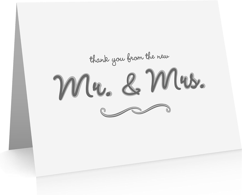 Dankeskarten, Hochzeit (40 Foldover Karten und Umschläge) Ehe Thank Thank Thank You Grußkarten B0117O629K   Qualität zuerst  9edf3b