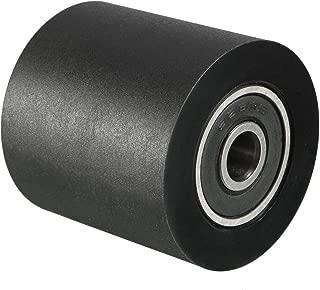 uxcell 6x30x30mm Roller Idler Bearing Pulley Sliding Conveyor Wheel Black