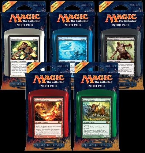 M:TG Magic 2014 Set of 5 Intro Packs