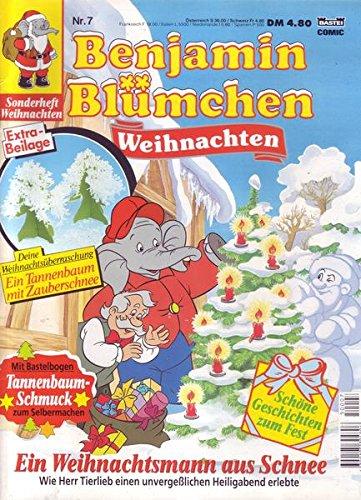Benjamin Blümchen Nr. 07 Ein Weihnachtsmann aus Schnee