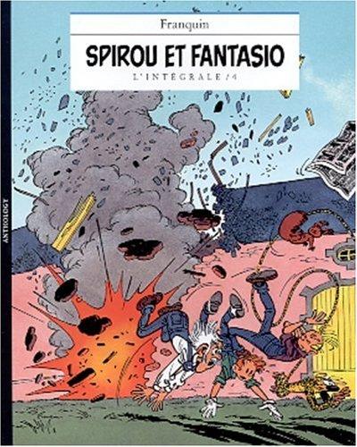 L'intégrale Spirou et Fantasio.