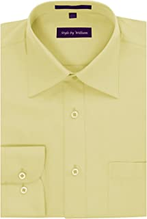 Style by William SBW Men's Regular Fit Dress Shirt