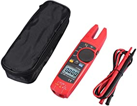 YASE-king Excellent Quality Digital Clamp Multimeter Kit, UT256B LCD Display AC/DC Voltage Current Meter 200A Portable Equ...