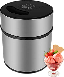 MVPower 2.1Quart Automatic Ice Cream Maker Frozen Yogurt & Sorbet Machine with Recipe