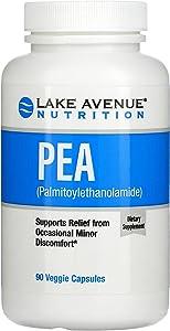 Lake Avenue Nutrition Pea (Palmitoylethanolamide), 300 mg, 90 Veggie Capsules