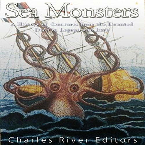 Sea Monsters audiobook cover art