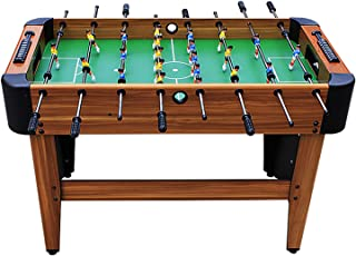 جدول كرة القدم Multiplayer Wooden Soccer Table Game, Easy To Assemble Table Football, Table Football Game For Party And Fa...