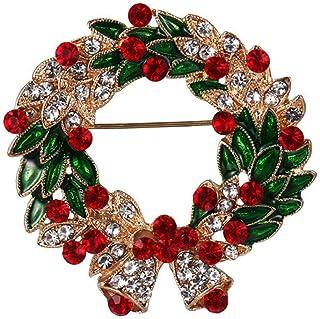 Multi Styles Spilla Natalizia Capodanno Piccoli Ciondoli Spilla Albero Accessori Gioielli Albero Di Natale Ornamento Appes...