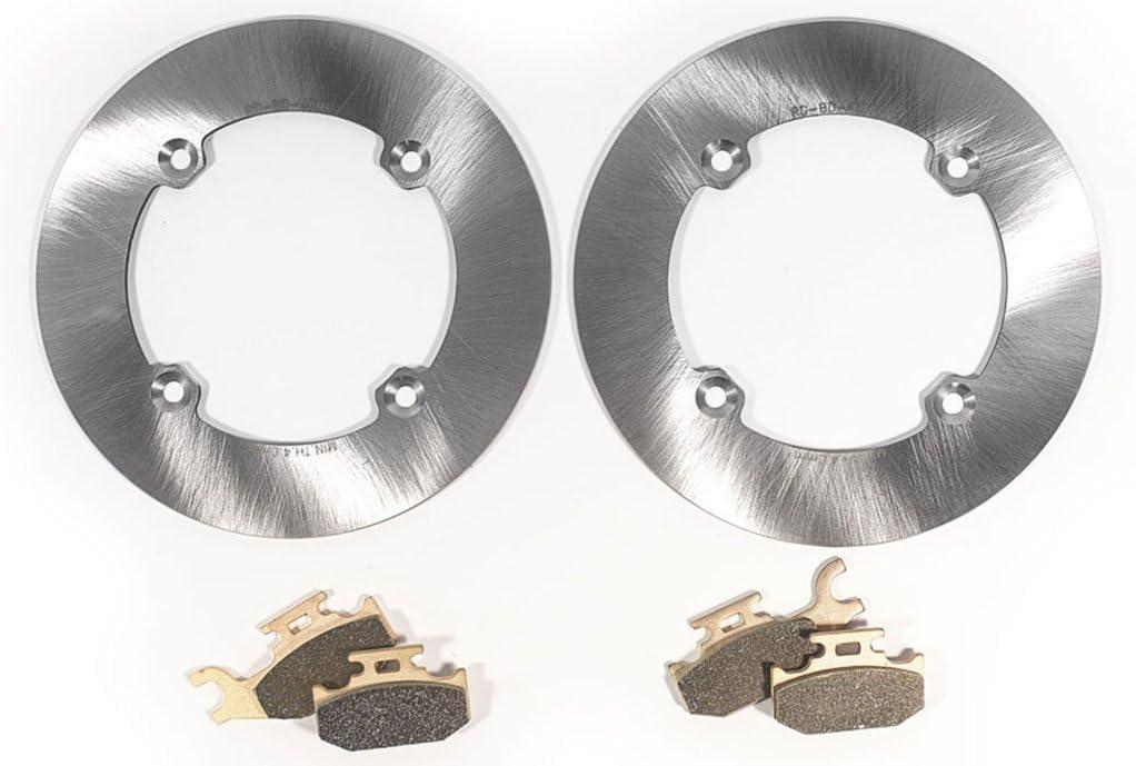 2013-2014 fits Can-Am Maverick Spring new work 1000R Rotors Rear Brake store MudRat