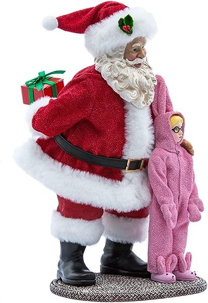 Kurt Adler Ralphie 10 Inch Christmas Story Santa Tablepiece