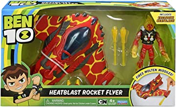 BEN10 Heatblast Rocket Flyer Vehicle w/Figure