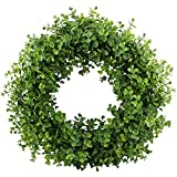 GTIDEA 16-17 inches Artificial Eucalyptus Wreath Spring Front Door...