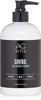 AG Hair Style Control Anti-Dandruff Shampoo, 12 Fl Oz
