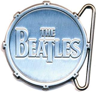 Beatles - Buckle All Metal diecut Drum Logo (in One Size)