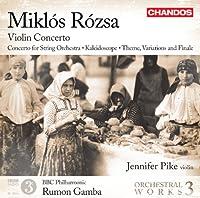 Orchestral Works Vol. 3-Violin Concerto Kaleidosco