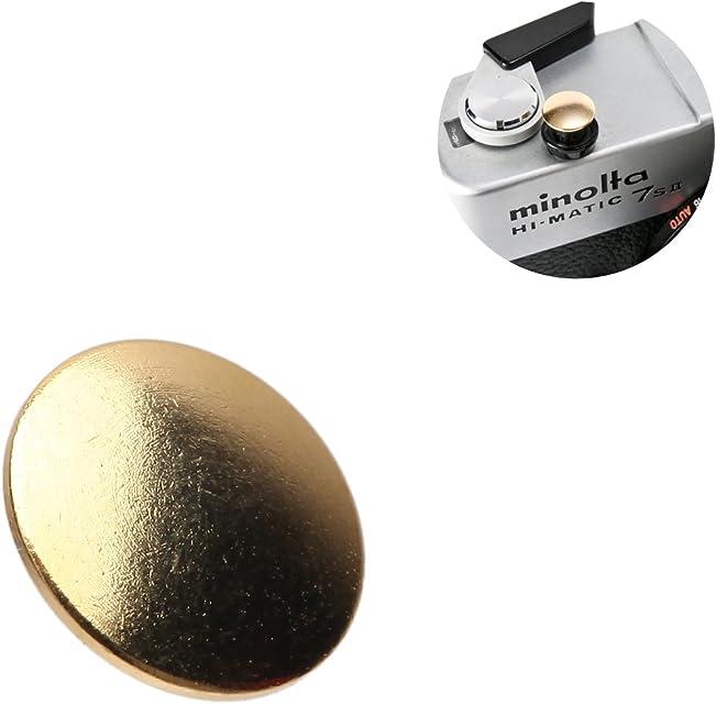 Selens botón de liberación disparador disparo suave para cámaras Leica Hasselblad Olympus Fujifilm etc. Convexo Bronce