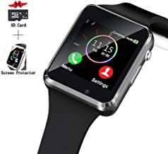 Smart Watch, Smartwatch Compatible with Android Samsung and iPhone(Partial Functions)..