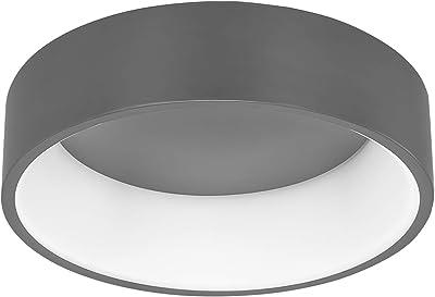 WOFI PURE Lámpara de techo, 32 W, gris