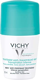 Vichy Deodorant 48 Hour Intensive Anti-Perspirant Treatment Roll-On, 50 ml