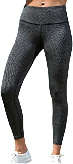 LaSculpte Womens Shapewear Yoga Pants High Waist Sports Tights Tummy Control Gym Fitness Workout Running Leggings with Poc...