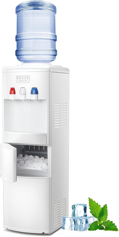 Kismile 2-in-1 shipfree Water depot Cooler Dispenser Maker with Ice T Built-in