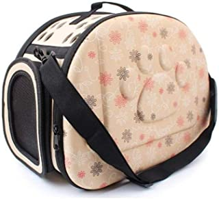 24x7 eMall Pet Carrier, Hard Cover Portable Tote Soft Breathable Comfort Transport Shoulder Bag for Small cat Dog – 42 x 2...