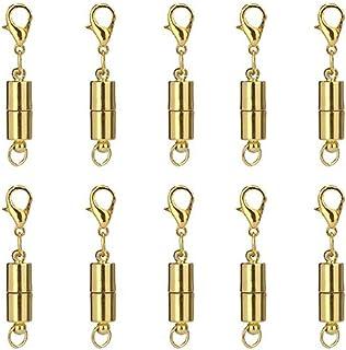 10 sets Fermoirs aimant magnetiques pr Collier 24x8mm Bijoux Accessoires arge 1E