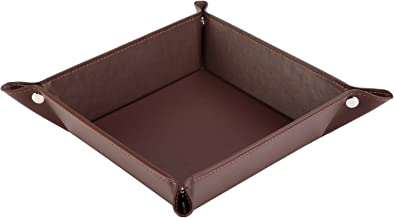 leather dump tray