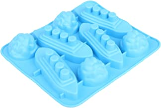 Funny Shaped Silicone Mold for Chocolate, Ice Cube Tray Party and Favors Titanic Blue