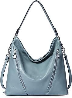 Women Leather Handbag Designer Large Hobo Purses Shoulder Bags