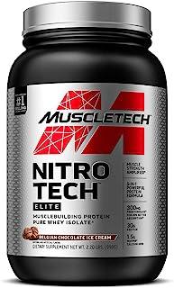Sponsored Ad - Whey Protein Isolate + Creatine Monohydrate   MuscleTech Nitro-Tech Elite   Whey Isolate Protein Powder   P...