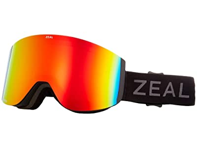 Zeal Optics Hatchet (Dark Night w/ Polarized Phoenix + Persimmon Sky Blue Lens) Snow Goggles