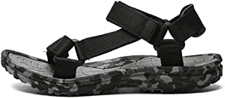 LUKEEXIN Sandals for Men Sports Hiking Shoes Athletics Shoes Beach Adjustable Water Sandal